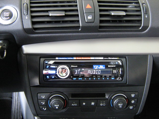 bluetooth usb cd mp3 autoradio bmw 1er 3er e87 e90 ebay. Black Bedroom Furniture Sets. Home Design Ideas