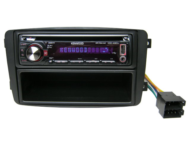 Verbazingwekkend Kenwood USB Mp3 CD Radio Autoradio Mercedes C Klasse W203 bis WN-37
