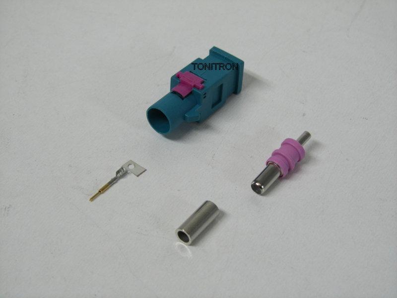 fakra stecker antenne rg174 adapter radio kabel crimpen. Black Bedroom Furniture Sets. Home Design Ideas
