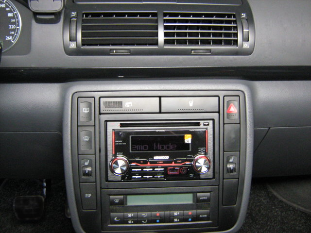 cd mp3 usb anschlu doppel din radio set vw kenwood. Black Bedroom Furniture Sets. Home Design Ideas