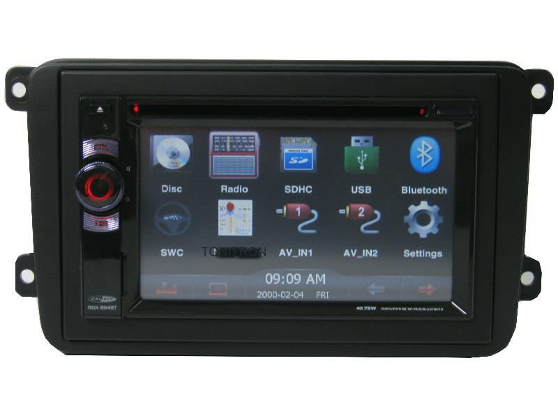 vw golf 5 dvd usb sd bluetooth doppel din touch screen. Black Bedroom Furniture Sets. Home Design Ideas