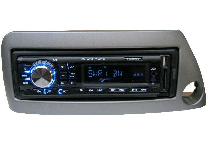 usb mp3 rds autoradio radio ford ka street set 4 x 50 watt. Black Bedroom Furniture Sets. Home Design Ideas
