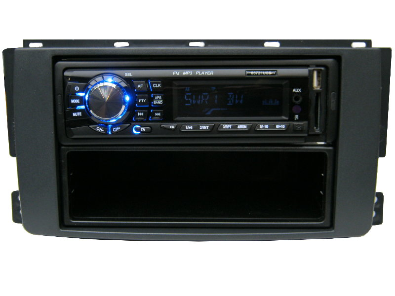 usb mp3 rds autoradio radio smart 451 454 for two four 4 x. Black Bedroom Furniture Sets. Home Design Ideas