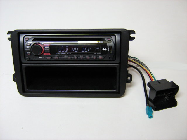 cd mp3 radio usb aux vw golf 5 6 sony lenkradfernbedienung can bus adapter ebay. Black Bedroom Furniture Sets. Home Design Ideas