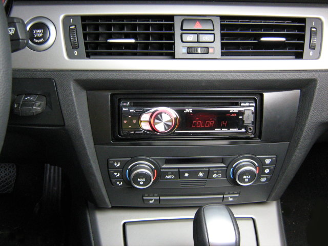 cd mp3 usb radio bmw 3er e90 1er e87 ab 2004 jvc set ebay. Black Bedroom Furniture Sets. Home Design Ideas