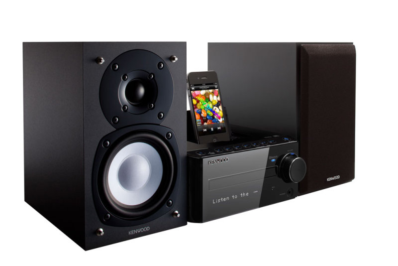kenwood k 531 b mini anlage hifi stereo system mit. Black Bedroom Furniture Sets. Home Design Ideas