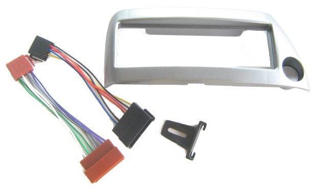 ford ka silber metallic set radio blende iso kabel adapter. Black Bedroom Furniture Sets. Home Design Ideas