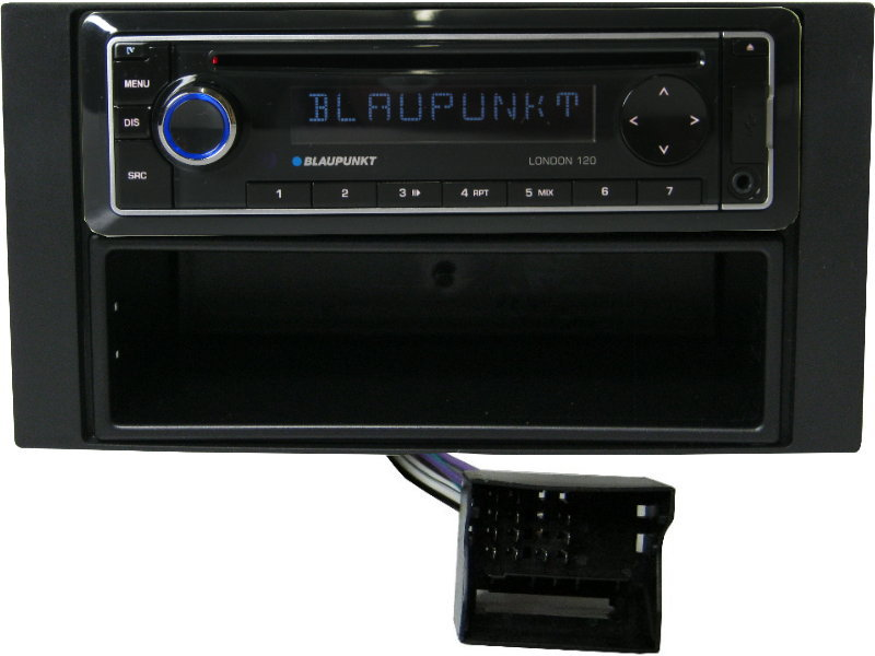 ford galaxy ab 2006 usb cd mp3 autoradio blaupunkt set. Black Bedroom Furniture Sets. Home Design Ideas