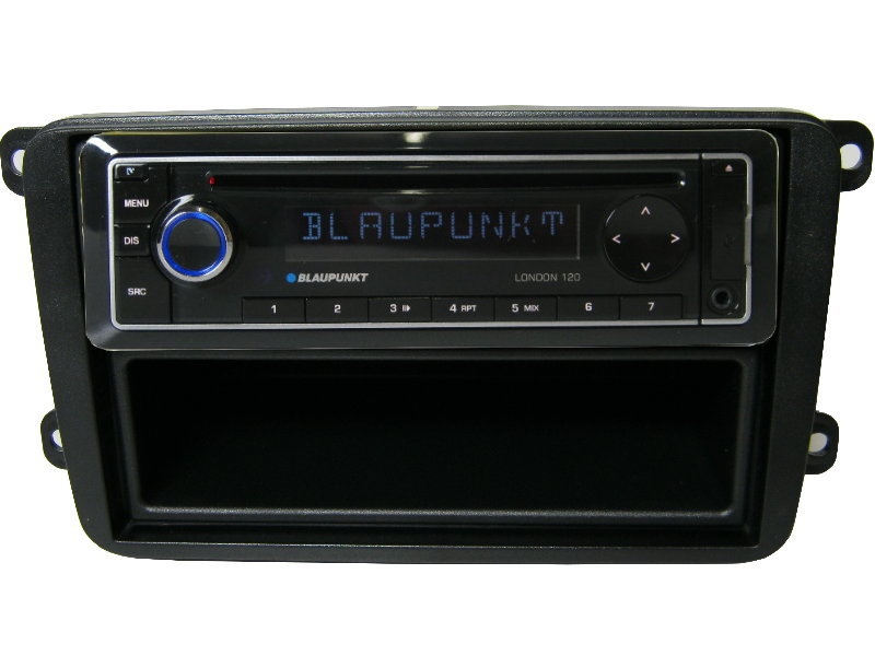 usb cd mp3 radio blaupunkt vw golf 5 6 blende adapter set. Black Bedroom Furniture Sets. Home Design Ideas