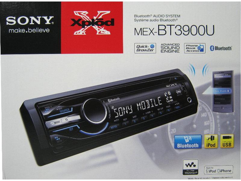 sony mex bt3900 bluetooth usb cd mp3 autoradio aux in radio rds ebay. Black Bedroom Furniture Sets. Home Design Ideas