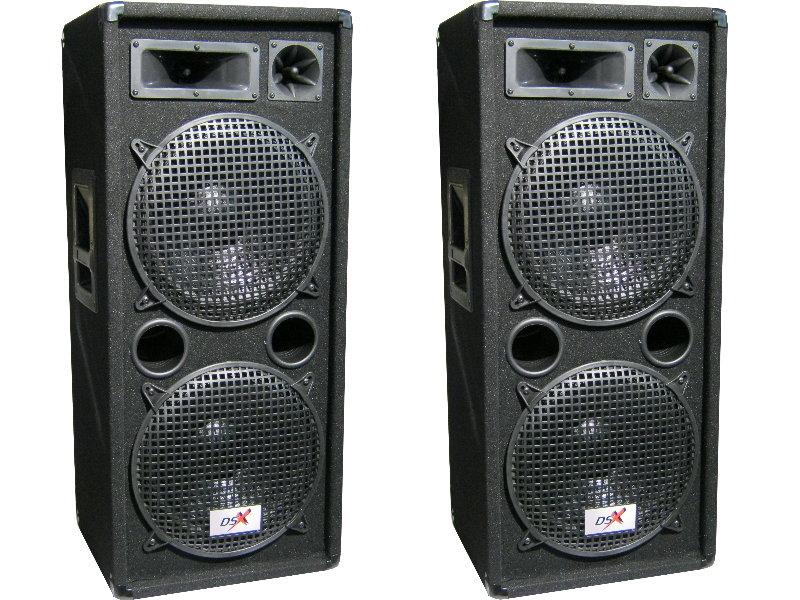 4 x boxen 30 cm bass 2 x verst rker set anlage 4800 watt dj pa party disco profi. Black Bedroom Furniture Sets. Home Design Ideas