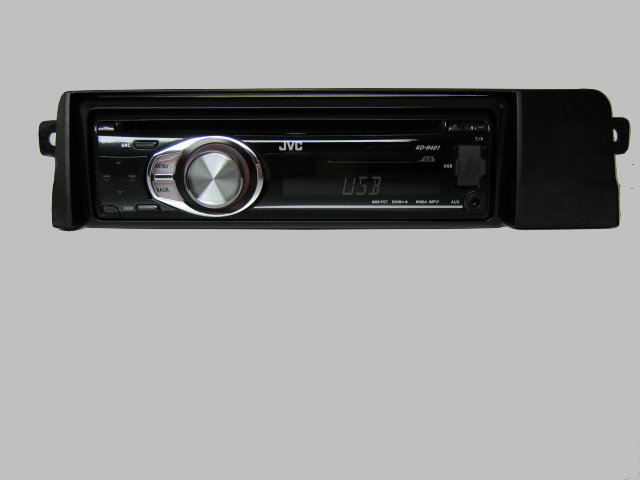 bmw 3er e46 jvc autoradio usb mp3 radio adapter blende ebay. Black Bedroom Furniture Sets. Home Design Ideas