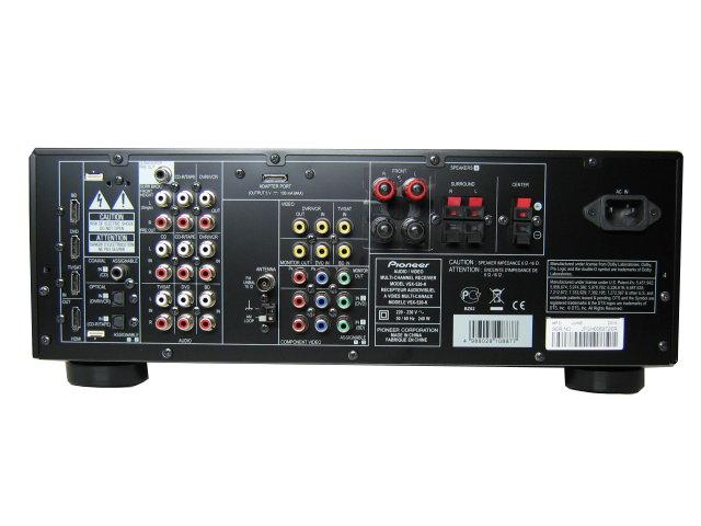 Details zu pioneer vsx 520 dolby digital system av receiver hdmi